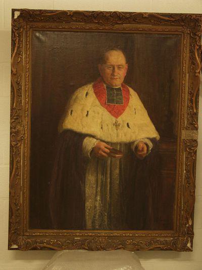 Portret van mgr. Broeckx