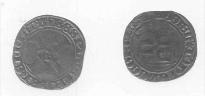 Swerte, 1484-1505 (bisschop Jan van Hoorn als graaf van Loon), geslagen geelkoper.