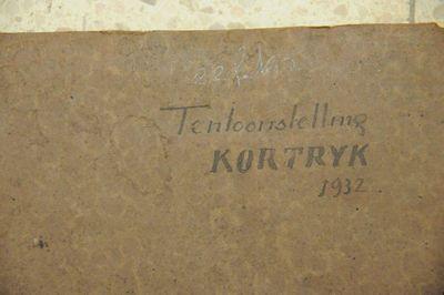 Fotoalbum tentoonstelling Kortrijk 1932