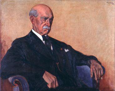 Portret van dichter Sauwen