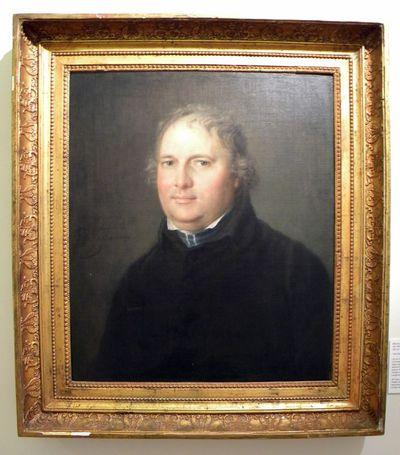 Melchior Gommaar Tieleman (1784-1864), portret van Niklaas-Gerard Vaesen (1768-1841), 1819, olie op doek.