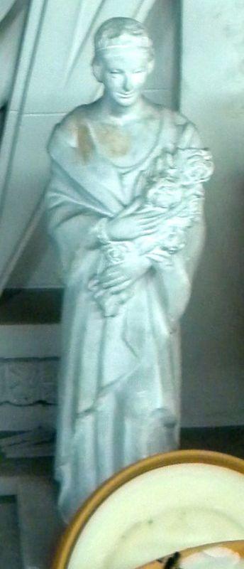Raf Mailleux (1916-1996), beeld van Koningin Astrid, ontwerp voor het beeld in de tuin van Bokrijk, ca. 1958, gips.