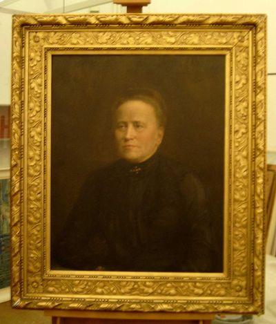 Charles Theunissen (1871-1948), Portret van een dame, 1912, olie op doek.