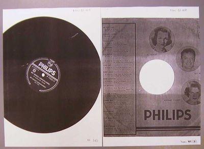 Het Hasselts Karnavalorkest met koor, auteur, Philips, drukker, 78-toerenplaat Het Hessels Karnavalliedche, s.d., geperst bakeliet.