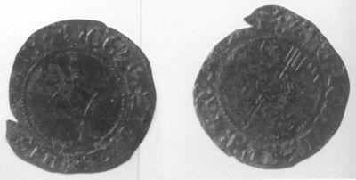 Swerte (brûlé), 1419-1455 (prins-bisschop Jan Van Heinsberg, graaf van Loon), geslagen biljoen.