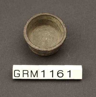 Compleet bronzen pot