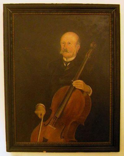 Tony Alain Hermant (1880-1939), Portret van Joseph Horace Télémaque Claes (1831-1913), 1908, olie op doek.