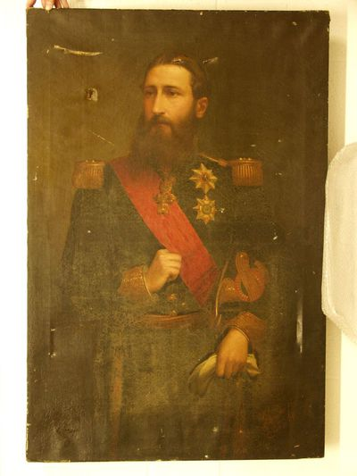 Portret van Leopold II
