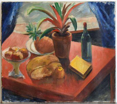 Gaston Joseph Wallaert (1889-1954), Stilleven, s.d., olie op doek.