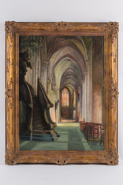 De predikstoel O.L.V.-Kerk Brugge