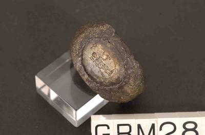 Volledige zegelring in zilver met intaglio in jaspis met Mercuriusafbeelding
