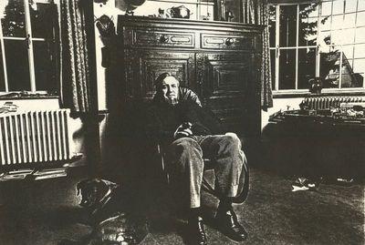 Carlo Valkenborgh (°1957), portret Steven Wilsens (°1937), 1982, papier.