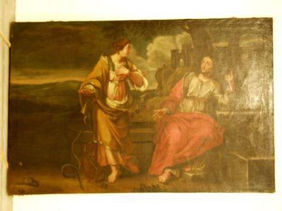 Christus en Samaritaanse vrouw
