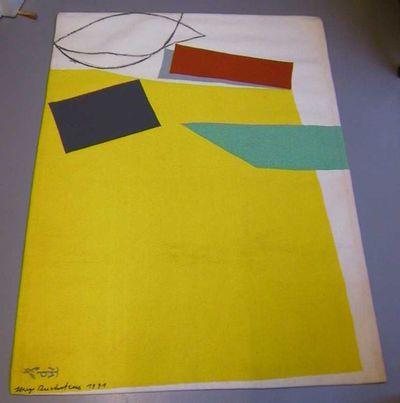 Hugo Duchateau (°1938), wandtapijt Portalegre, geknoopt naar het ontwerp van Hugo Duchateau, 1991, garen, knopen.