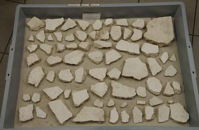 Fragmenten van een muurbeschildering