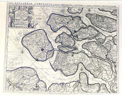 Kaart van Zeeland