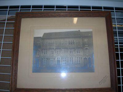 Modern-Photo, fotograaf Stin Blanckart (1881-1944), Foto Café het Hooghuis in Hasselt, ca. 1920, papier.