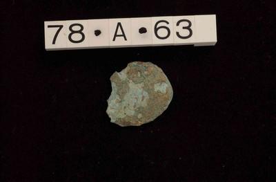 Bijna volledige munt in brons