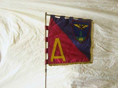 Anoniem, vaandel 31 A - A, s.d., dubbele zijde, vilt, velours.