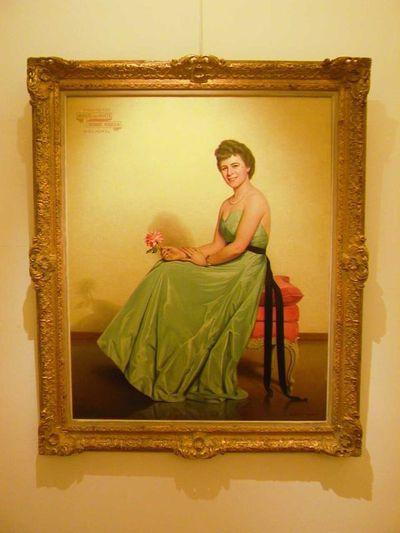 Jos. Damien (1879-1973), portret Anne Rutten, 1940, olie op doek.