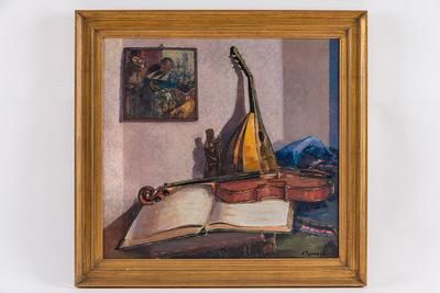 Stilleven muziekinstrumenten (herwerkt 1931)