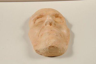 Dodenmasker van Frans Masereel