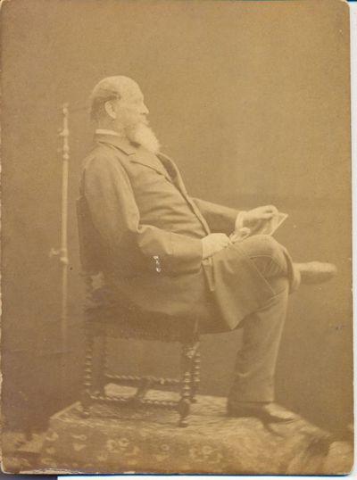 Henri Joseph Blanckart (1833-1894), Portet van Djef Anten (1851-1913) in profiel, s.d., barietpapier.