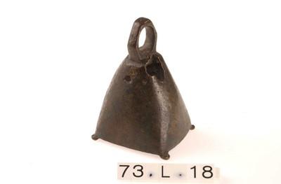Complete bronzen bel