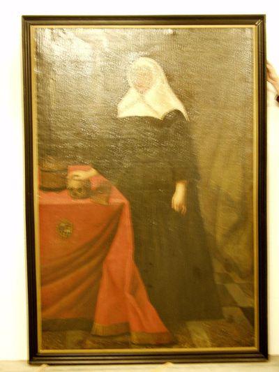 Portret van Anna-Margareta van Hilst