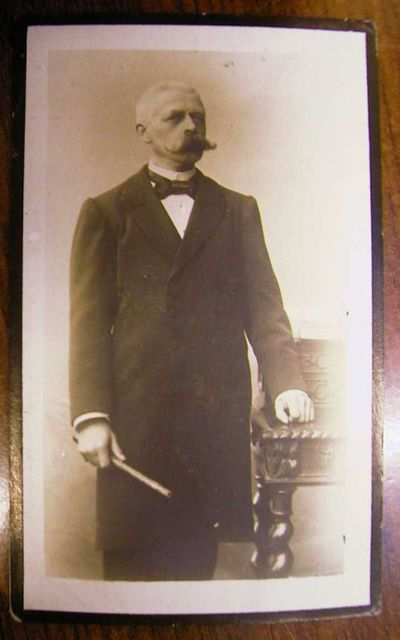 Drukkerij Joseph Vrijens (1876-1943), , doodsprentje van Alexis Pierloz (1853-1919), 1919.