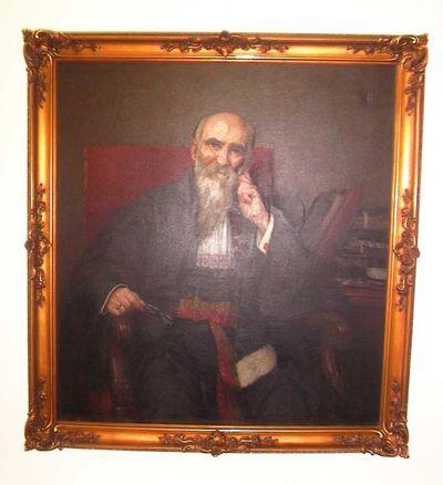 Jos. Damien (1879-1973), portret van Guillaume Stellingwerff (1841-1923), 1915, olie op doek.