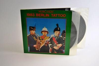 4 Doppel-Langspielplatten (Doppel-LP),