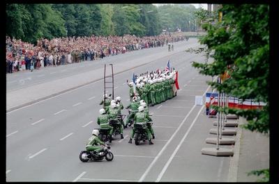 Fotografie: Allied Parade in Berlin-Tiergarten