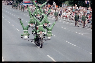 Fotografie: Allied Forces Day Parade in Berlin-Tiergarten