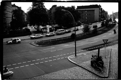 S/w-Fotografie: ARTEP Truppenübung der U.S. Army Berlin Brigade in Berlin