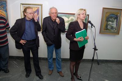 Отварање изложбе цртежа македонског сликара Глигора Чемерског Рука гледа
