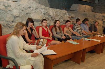 Вече савремене украјинске поезије; Римска дворана