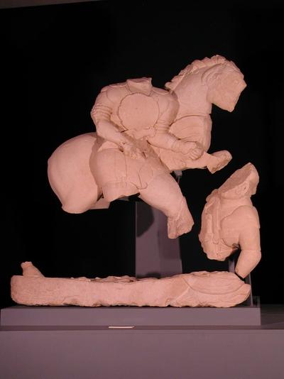 Grupo de los duelos del conjunto escultórico de Cerrillo Blanco (Porcuna, Jaén, España)