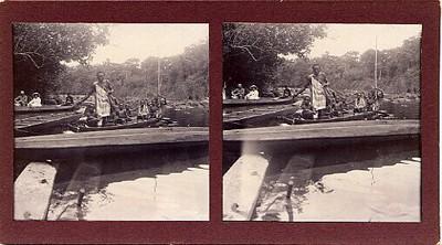 Aangemeerde kano's