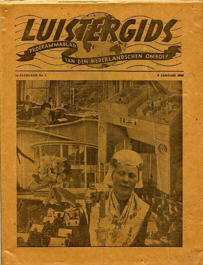 Luistergids, programmablad van den Nederlandschen Omroep
