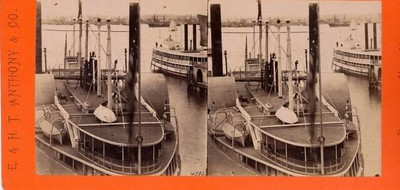 Steamboat for Albany, Pier No. 16 N.R. New York City