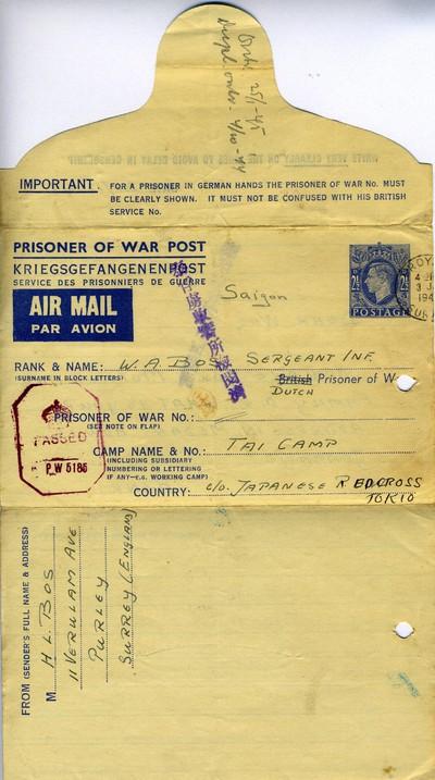 Prisoner of War Post