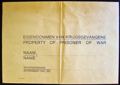 Eigendommen van krijgsgevangene
