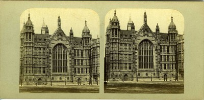 New Houses of Parliament: from Palace Yard.