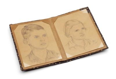 Portret van Carel en Netty Lampe
