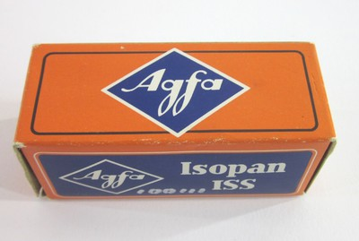 Agfa Isopan ISS - Agfacolor Negativfilm