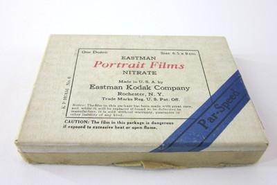 Eastman Portrait Films Nitrate