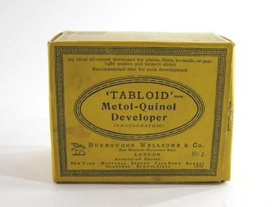 Burroughs Wellcome & Co. Tabloid Metol-Quinol Developer