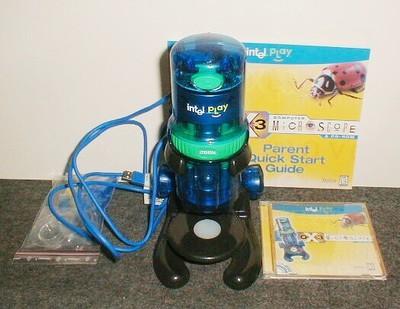 Intel Play QX3 microscope