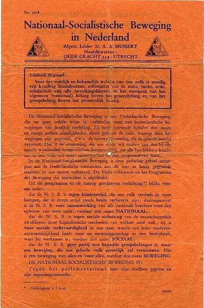 Nationaal-Socialistische Beweging in Nederland